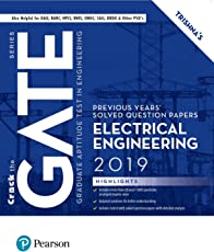 Previous Years' Solved Question Papers: GATE Electrical Engineering, 2019 by Pearson