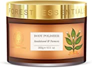 Forest Essentials Sandalwood and Turmeric Body Polisher, 300g