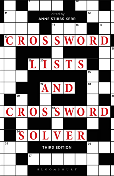 Crossword Lists And Crossword Solver Ebook Anne Stibbs Kerr Kerr Anne Stibbs Amazon Co Uk Kindle Store