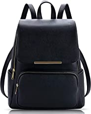 Bizarre Vogue Stylish College Bags Backpacks For Girls (Black, BV1065)