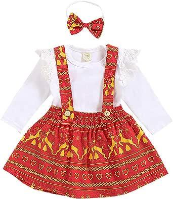 Baby Mädchen Kleid Set 2tlg Body HOSE Röckchen HUND