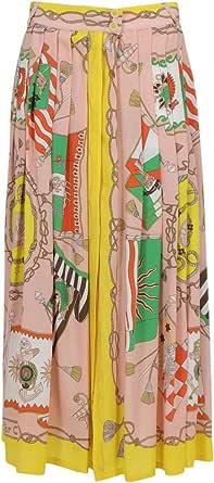 Etro Luxury Fashion Donna 141634419650 Rosa Seta Gonna | Ss21
