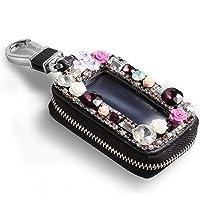 Étui à clés portable pour un usage domestique noir longueur 12cm