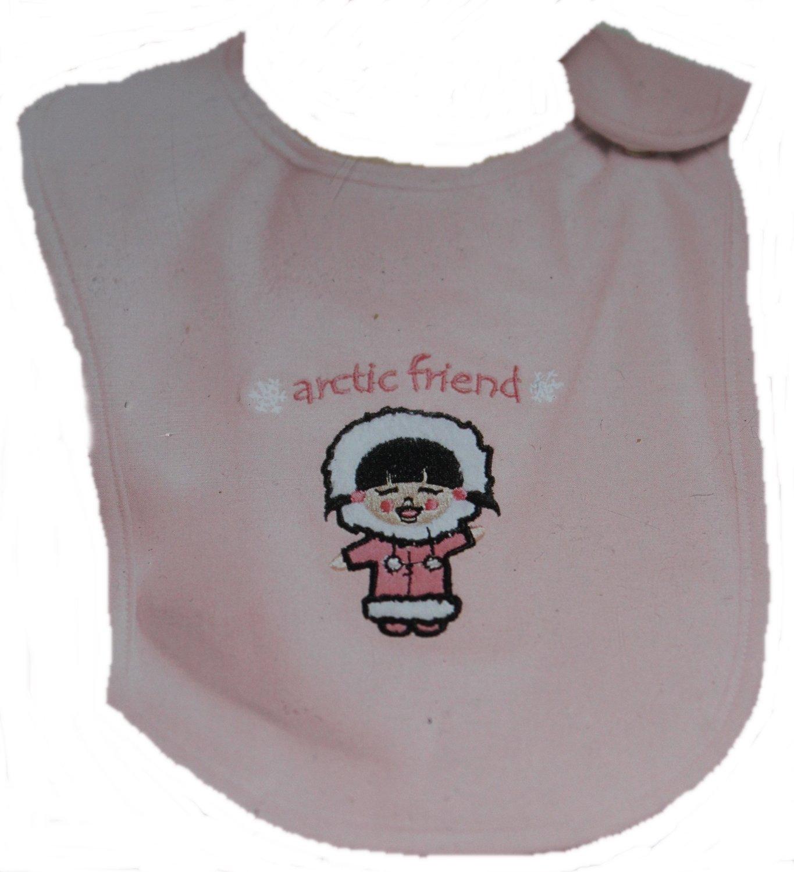 Baby Lätzchen rosa 2 Stück