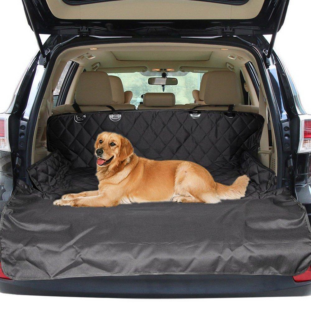 Protezione Integrale per Portiere Coprisedile Auto per cani Protezione del Sedile Posteriore per Tutte Le Automobili e SUV Antiscivolo Universale 100/% impermeabile