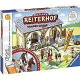 Ravensburger tiptoi 00707 - Tier-Set: Reiterhof / Erkunde den Reitsstall und kümmere dich eigenständig um die Pferde