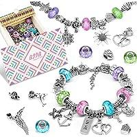 BIIB 3 Pièces Bracelet Fille - Idee Cadeau Ado Fille, Creation Bijoux Fille, Cadeau Fille 8-12 Ans, Kit Fabrication…