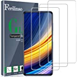 Ferilinso [3 Piezas] Protector de Pantalla Cristal Templado Xiaomi Poco X3 Pro/Xiaomi Mi 10T Lite/Mi 10T/10T Pro 5G/Xiaomi Po