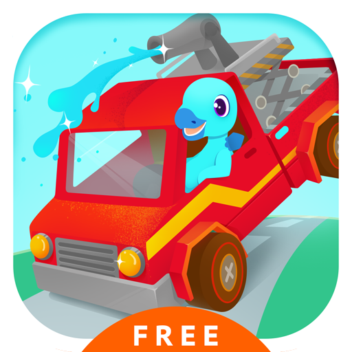 Fire Truck Rescue Free - Fire fighter & Driving Simulator Games for kids (Kids Fire Fighter)