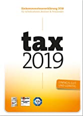 tax 2019 (für Steuerjahr 2018 / Frustfreie Verpackung)