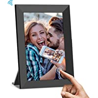 UCMDA Digital Photo Frames Wifi, 8 Inch Smart Cloud Digital Picture Frame with HD 1280x800 IPS Touch Screen, 16GB…