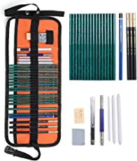 Climberty Art Supplies Graphite and Charcoal Pencils Set (K0_ZRP85086)
