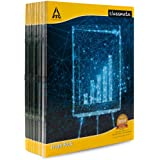 Classmate Exrecise Notebook - Graph (Square - 1 mm/Single Line) , 64 Pages, Soft Cover, 280mm x 220mm (Pack Of 18)