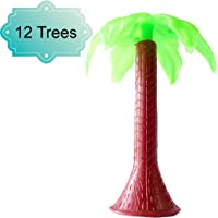 DBC Retail Artificial Trees for Projects and Models (Green, Pack of 12)