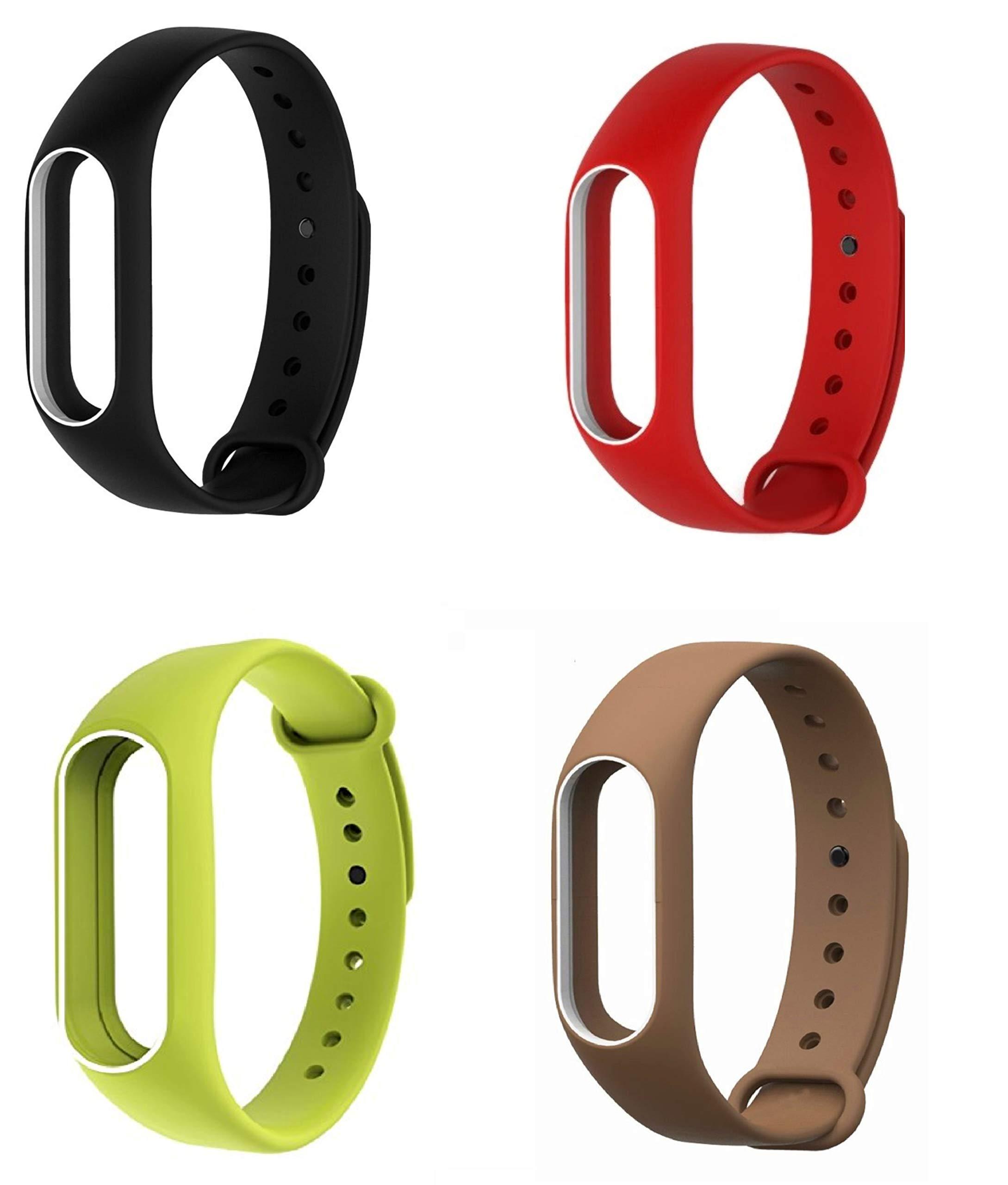 Rapidotzz Wristbands Wireless Bracelet Silicone Band for Xiaomi Mi 2 / Tracker Not Included