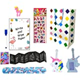 MONKEYTAIL Unicorn Combo Pack (Set of 10) Goodies with Goody Bag for Kids as Birthday Return Gift to Kids All Age Group