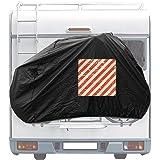 Cartrend 10162 Housse de Protection pour vélo de Caravane Montage arrière 1 pièce