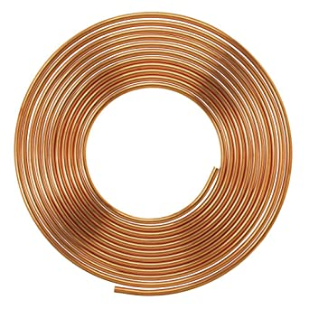 Soft Copper Pipe Copper Pancake Coil, Outer Diameter - 1/4 inch ...