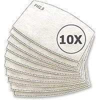 TBOC Filtro Monouso per Mascherina - [Pack 10 Unità] Lotto di Filtri intercambiabili 5 Strati di Filtrazione…