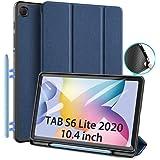Funda para Samsung Galaxy Tab S6 Lite 10.4 (P610 / P615) 2020, DUX DUCIS TPU Suave Estuche de protección magnética Delgada co