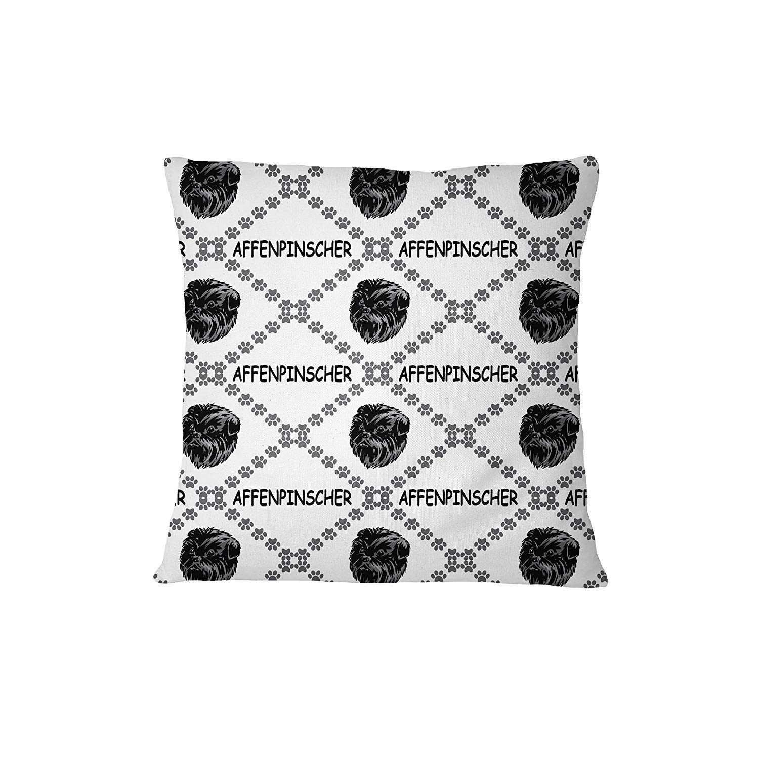 Affenpinscher Dog Paws Sofa Bed Home Decor Pillow Cover 18′ x 18′ Pillow & Cover Set