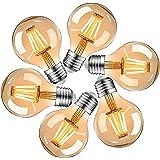 HISAYSY Ampoule Vintage Edison E27, Ampoule LED Vintage E27 4W, Ampoule Décorative Rétro Edison E27 Blanc chaud, éclairage id