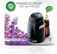 Air Wick Air Freshener Essential Oil Diffuser Kit, Lavender & Almond Blossom