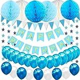 Unique Ersten Geburtstag Luftballons Hochstuhl Dekorieren Kit/ /Blau