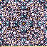 ABAKUHAUS marokkanisch Satin Stoff als Meterware,