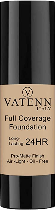 Vatenn Italy Full Coverage Foundation (Beige 153)