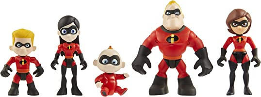 Incredibles 2 Precool Family Figure, 3-Inch