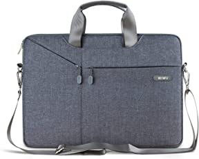 Wiwu Padded Nylon Shockproof and Waterproof 13-13.3 inch Grey Laptop Case Bag