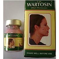 Wartosin (Wart Remover) Unique Herbal Formulation, Natural Wart Remover 3ml Pack