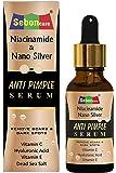 SebonCare Vitamin C Serum for Face remove Acne - Pimple Enrich with Niacinamide, Nano Silver, Vit- (A, E), Extract of…