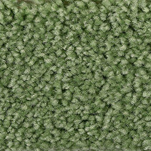 Teppichboden Auslegware | Hochflor Langflor | 400 und 500 cm Breite | dunkel-grün | Meterware, verschiedene Größen | Größe: 1 Muster