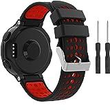 TOPsic Garmin Forerunner 235 Bracelet, Watch Bandes flexible en Motif Camouflage Silicone avec des Outils pour Garmin Forerun