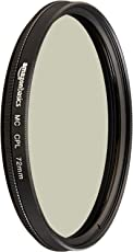 AmazonBasics Circular Polarizer Filter- 72 mm