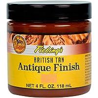 Fiebing's Antique Finish (British Tan (Ocre Anglais), 4oz/118mL)