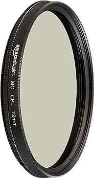 AmazonBasics Circular Polarizer Filter- 72 mm