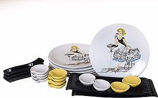 Keramika Lady Bar Kahvaltı Takımı 23 parça 6 Kişilik