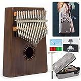 AKLOT 17 Touches Clés Kalimba, Professionnel De Haute Qualité Doigt Pouce Piano Instrument de Musique Cadeau pour les enfants
