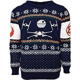 X-Wing Vs. Tie Fighter Official Star Wars Christmas Jumper / Sweater (Medium)