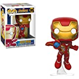 Funko 26463 Avengers Infinity War 26463 Pop Bobble Marvel Iron Man Collectible Figure, Multicolor