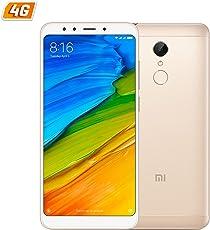 Xiaomi Redmi 5Dorado móvil 4G Dual SIM 5.7IPS HD/8core/16GB/2GB di RAM/MP/MP
