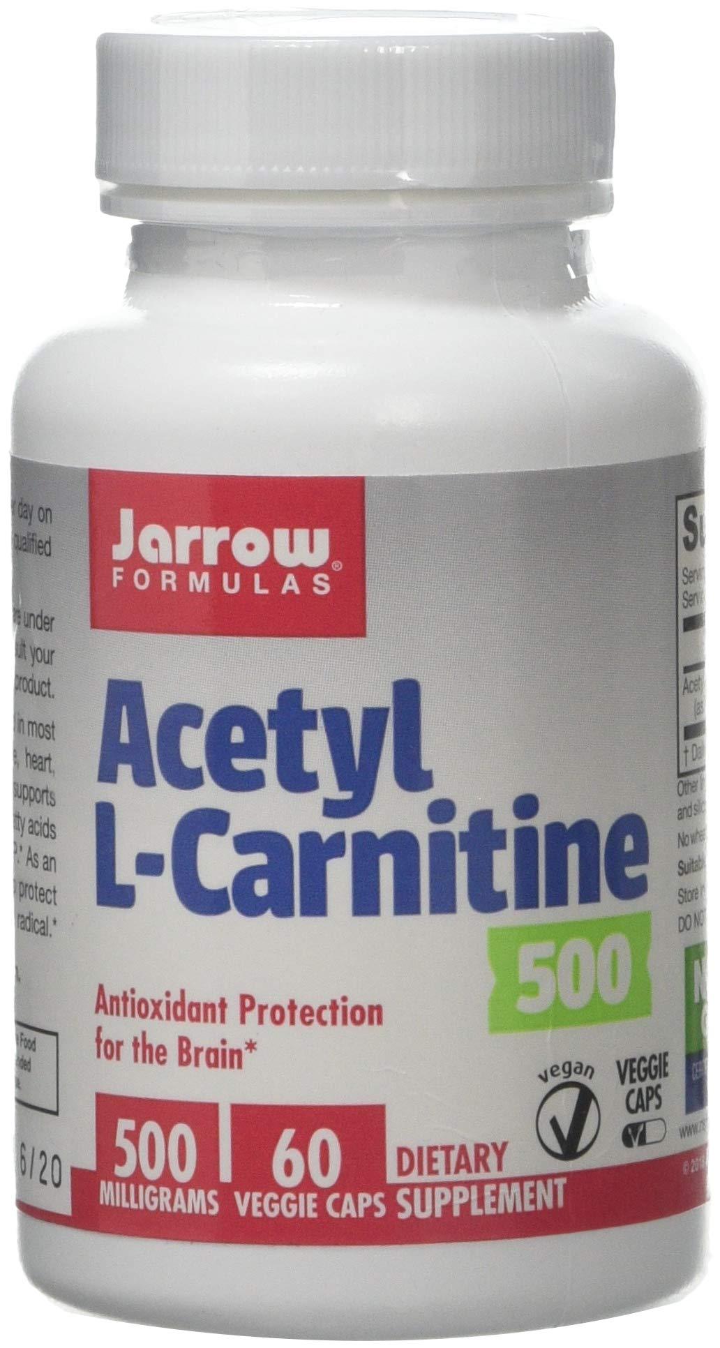 Jarrow Formulas Acetyl Lcarnitine Antioxidant Protection The Brain Earplug , 14 cm, Black HS-0503
