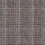 Fabulous Fabrics Mantelstoff Glencheck – braun —