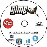 New GIMP Photo Editor Premium Professional Image Editing Software for PC Windows 10 8.1 8 7 Vista XP PhotoShop…