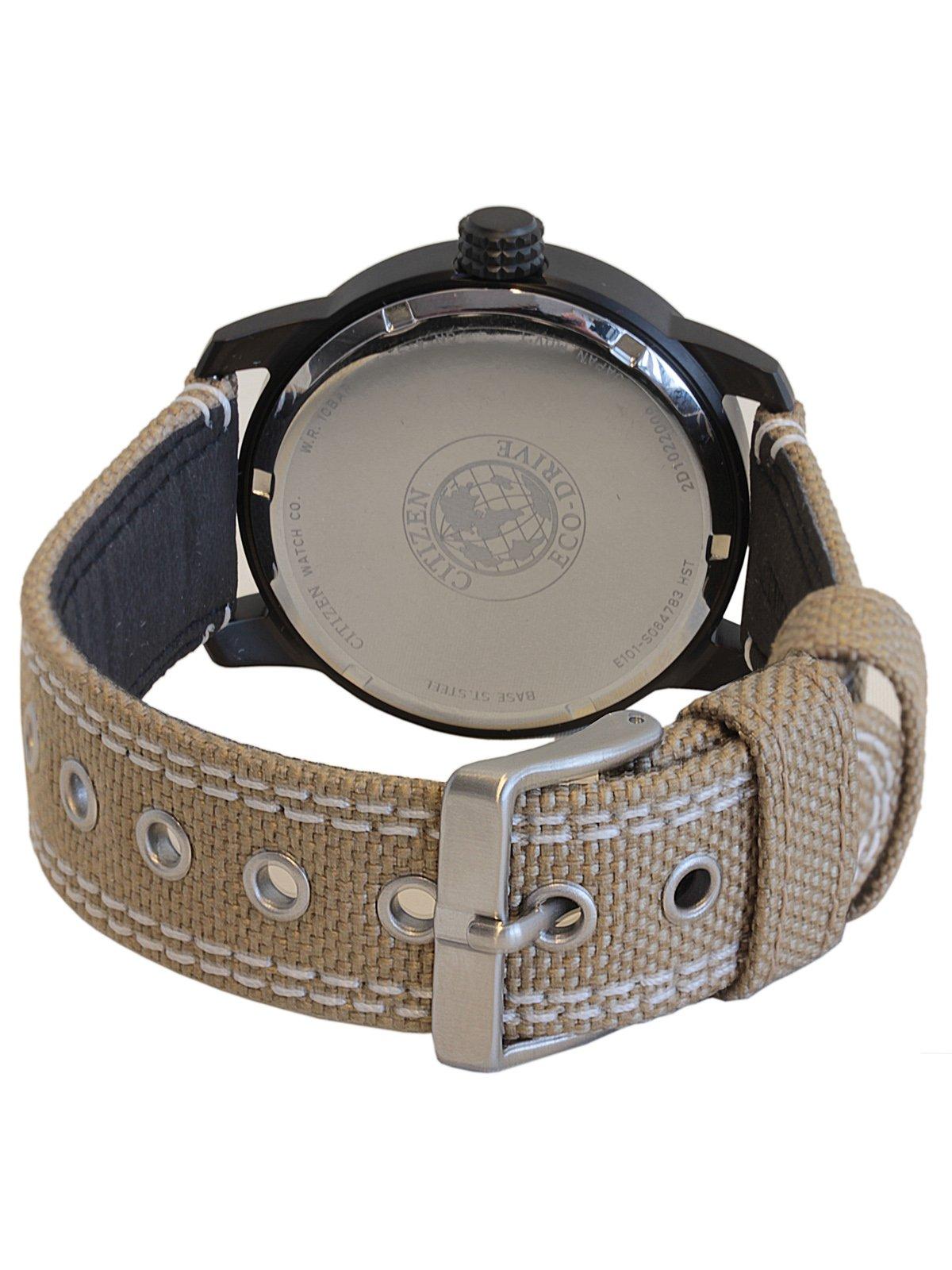 Citizen de hombre reloj de pulsera Elegance analógico de cuarzo, Eco Drive (Talla Única, Negro) 2