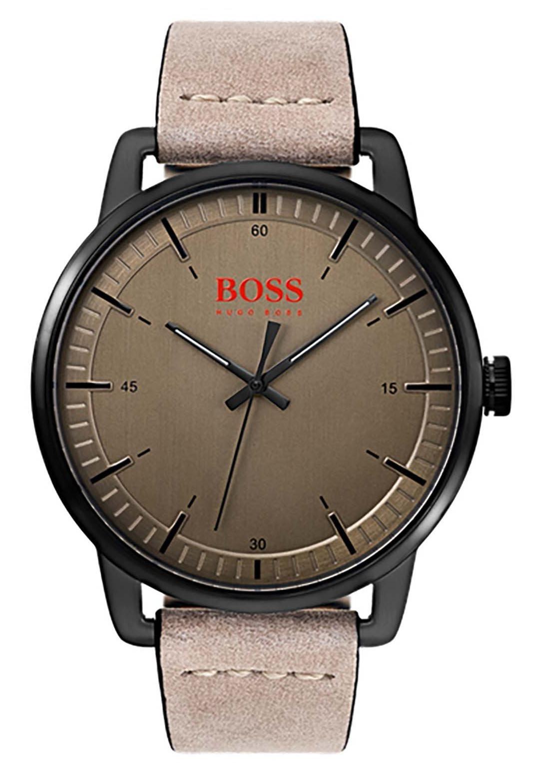 Hugo Boss Orange Reloj Analógico para Hombre de Cuarzo con Correa en Cuero 1550073