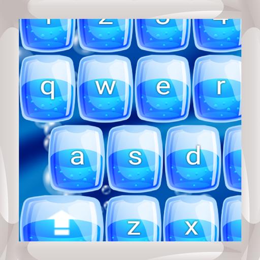 (Blaue Wasser-Tastaturen)